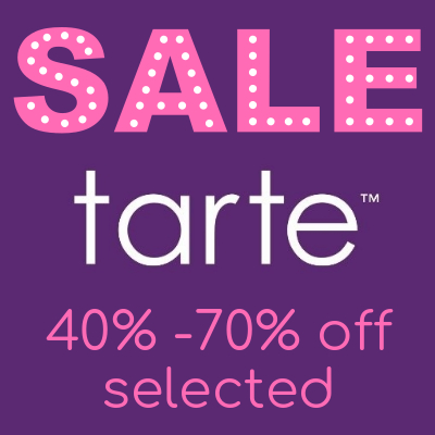 Tarte Sale up 40% - 70% off selected items
