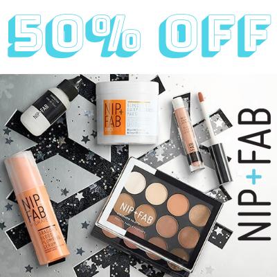 50% off Nip+Fab
