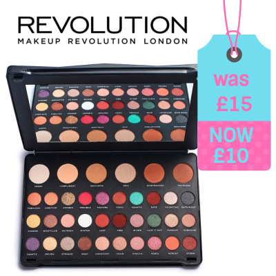 33% off Revolution Shook Eyeshadow Palette
