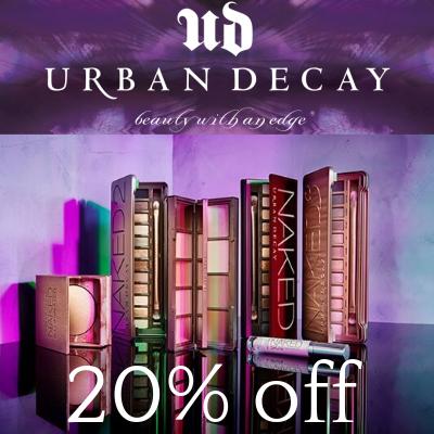 20% off Urban Decay
