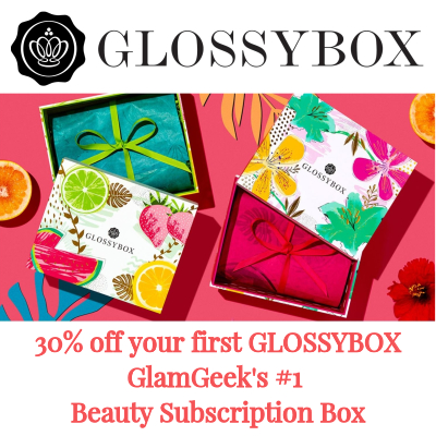 30% off your first Glossybox