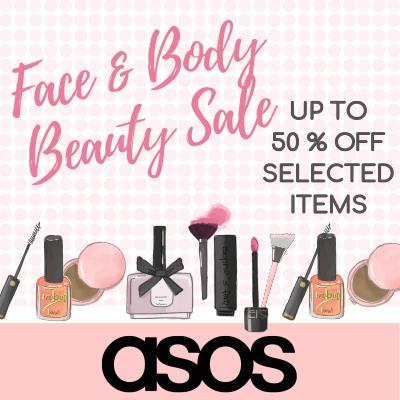 asos Face & Body Sale