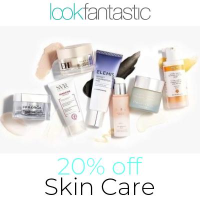 20% off selected skincare - includes Pixi, Estee Lauder, YSL, Caudalie, GlamGlow, Origins, Elemis