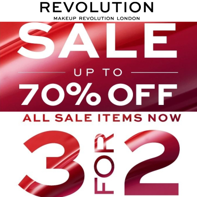 Summer Sale - up to 70% off + 3 for 2 on Sale Items