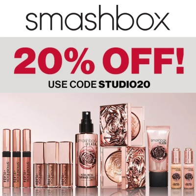 Exclusive - 20% off at Smashbox