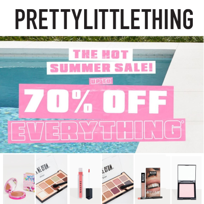 Summer Sale - up to 60% off Makeup  & Beauty