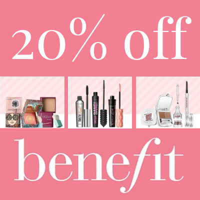 20% off Benefit