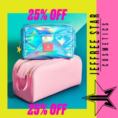 25% off Jeffree Star Makeup Bags & Storage