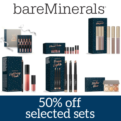 50% off selected bareMinerals