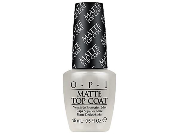 O.P.I Matte Top Coat Nail Lacquer