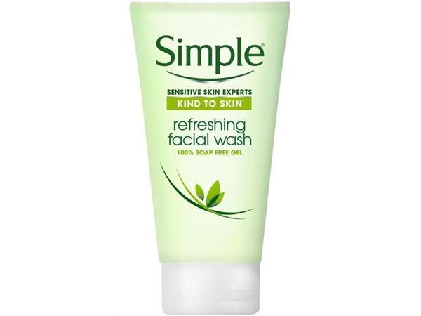 Simple Refreshing Facial Wash