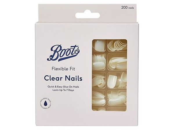 200 Clear nails