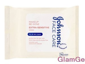 Johnson's Face Care Makeup Be Gone Extra-Sensitive Wipes