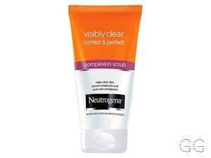 Neutrogena Visibly Clear Correct & Perfect Complexion Scrub