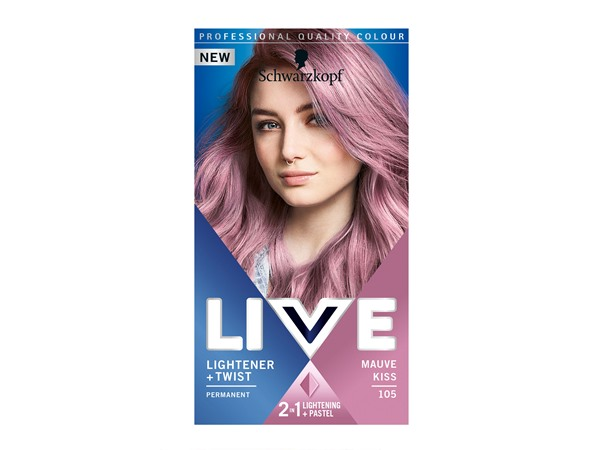 Schwarzkopf LIVE Lightener + Twist Blonde Hair Dye