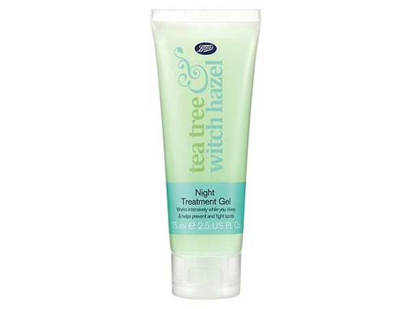 Tea Tree and Witch Hazel Night Gel