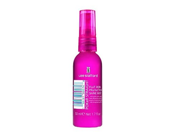 Poker Straight Flat Iron Protection Shine Mist