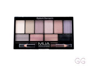 MUA Eyeshadow Palette Elysium Shadows