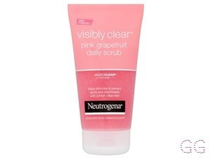 Visibly Clear Pink Grapefruit Scrub