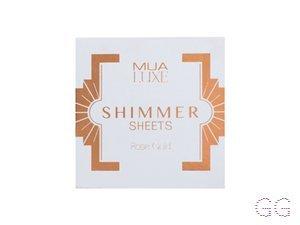 Luxe Shimmer Sheet Rose Gold