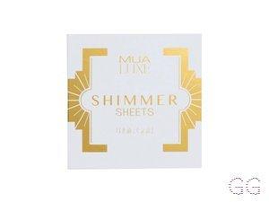 Luxe Shimmer Sheet White Gold