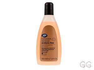Boots Acetone Free Nail Polish Remover