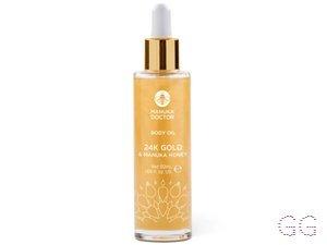 24K Gold And Manuka Honey Body Oil