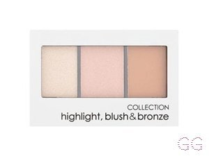 Collection  Blush Bronze Highlighter Trio Nudes