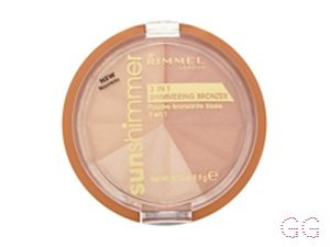 Rimmel Sunshimmer 3 In 1 Shimmering Bronzing Powder