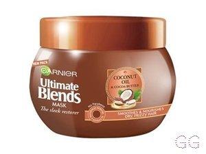 Garnier Ultimate Blends Coconut Oil Frizzy Hair Mask