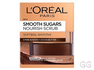 L'Oreal Smooth Sugar Nourish Cocoa Face And Lip Scrub