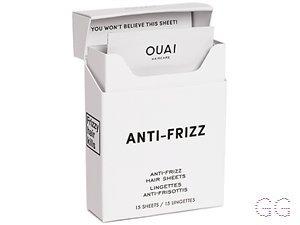 OUAI Anti-Frizz Hair Sheets, X 15