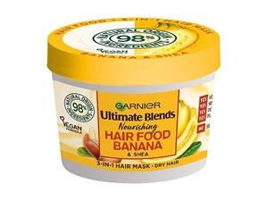 Garnier Ultimate Blends Hair Food Banana 3-In-1 Dry Hair Mask Treatment