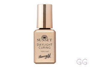 Barry M Sunset Daylight Curing Topcoat