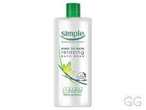 Simple Bath Cream Soothing